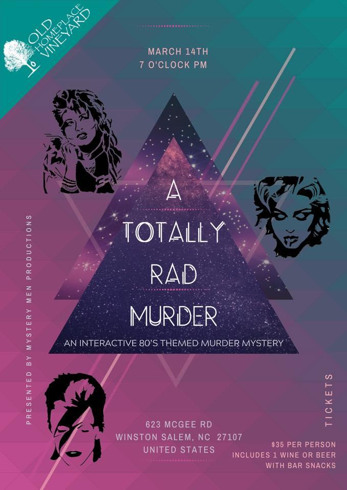 80s Murder Mystery