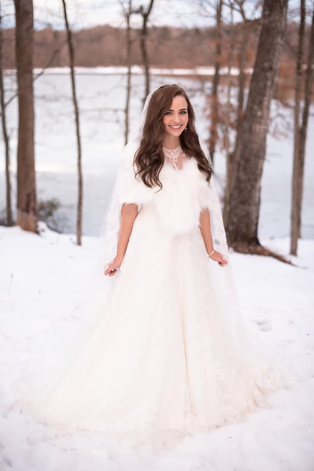 Bride in Snow